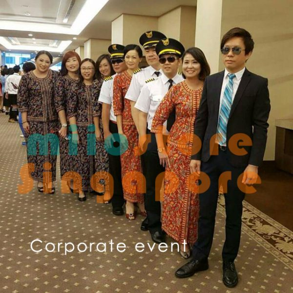 Corporate Groups - Pilot Uniform and Stewardess