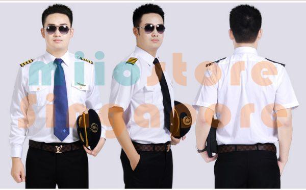 Beautiful Pilot Uniform