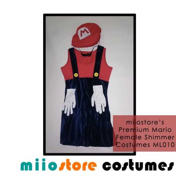 ML010 Premium Shimmer Costumes Mario