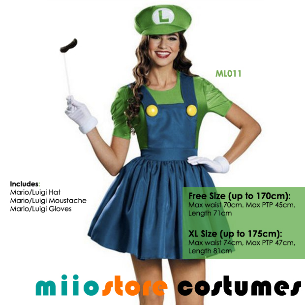 Mario and Luigi Costumes ML011