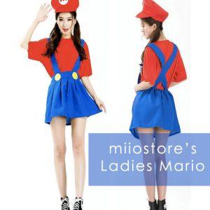 rent ladies mario costumes singapore ml003