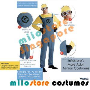 miiostore's Premium Minion Costumes MN003