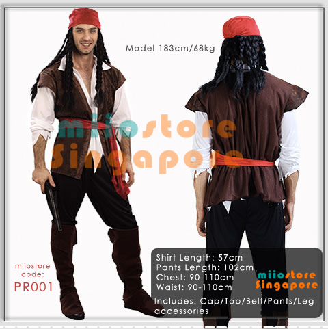 miiostoreu0027s Pirate Costumes - PR001  sc 1 st  miiostore Costumes : halloween costumes for kids singapore  - Germanpascual.Com