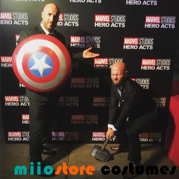 Marvel Studio Hero Acts Captain America miiostore Costumes Singapore