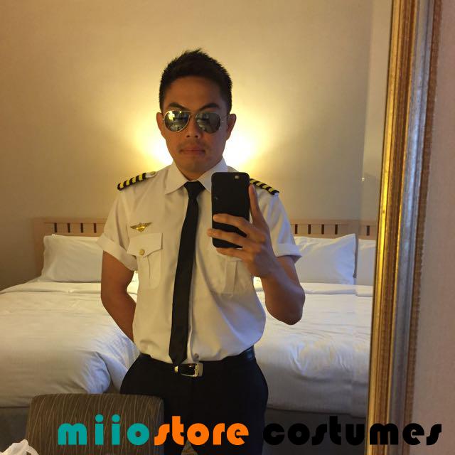 Pilot Costume Dressup - miiostore Costumes Singapore