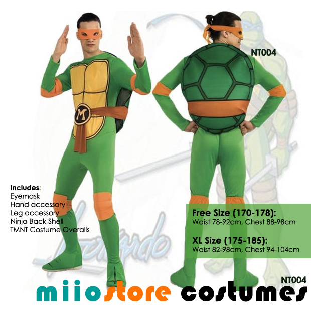 ... RENT Teenage Mutant Ninja Turtles (TNMT) Costumes Singapore  sc 1 st  miiostore Costumes & Rent Teenage Mutant Ninja Turtles (TMNT) Costumes Singapore DND