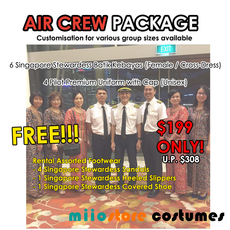 miiostore Air Crew Package Group Rental Deals