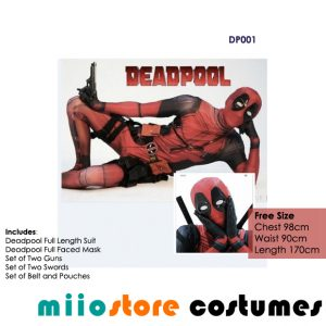 Deadpool Costumes Singapore - miiostore Costumes Singapore - DP001