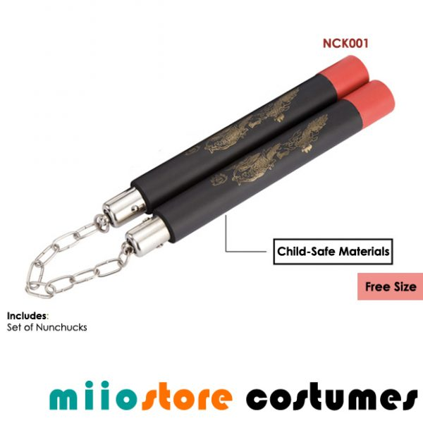 Rent Nunchuck Nunchaku Martial Arts Pirates Bruce Lee Accessories - NCK001
