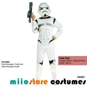 Star Wars Stormtrooper Costumes Singapore - miiostore Costumes Singapore SW001