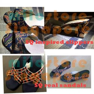 SQ Stewardess Singapore Stewardess Sandals Inspired Slippers Heels