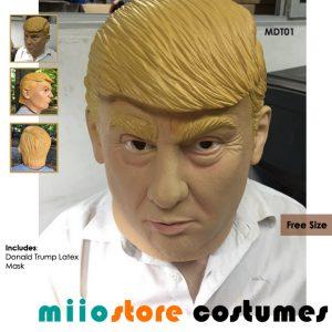 miiostore's Donald Trump Mask MDT01 Free Sized