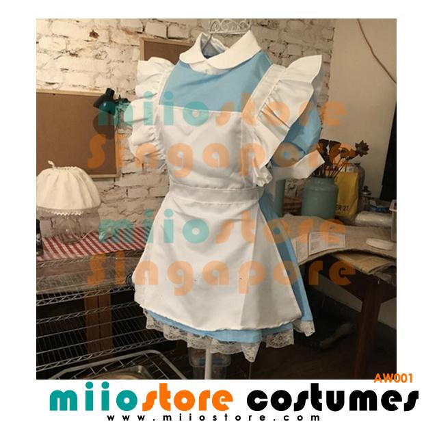 AW001 - Alice in Wonderland Costumes Singapore - miiostore Costumes Singapore
