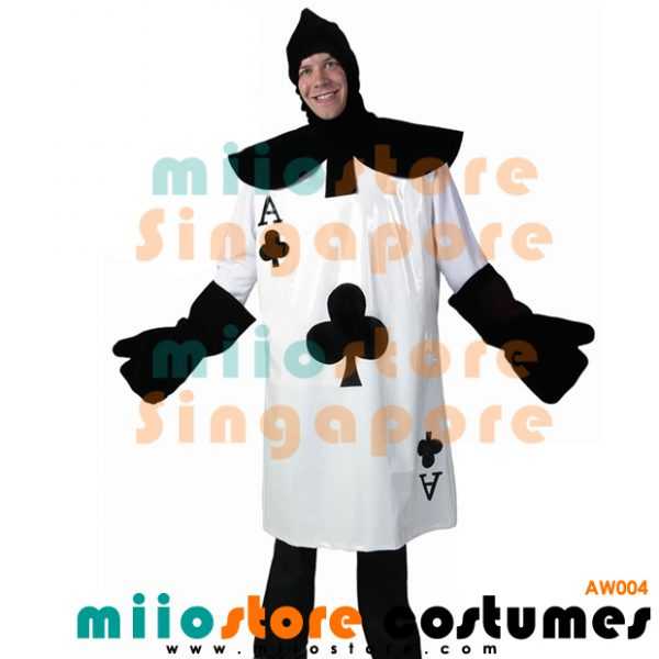 AW004 - Ace Card Costumes Singapore - Alice in Wonderland Costumes Singapore - miiostore Costumes Singapore