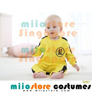 Bruce Lee Baby Costumes - BL001 - miiostore Costumes Singapore