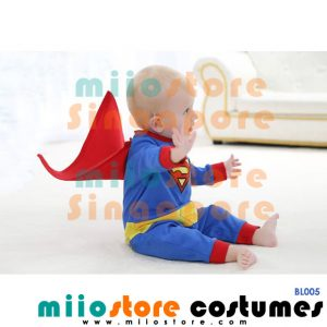 Superman Baby Costumes - BL005 - miiostore Costumes Singapore