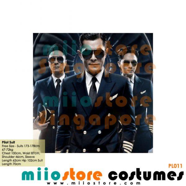 Pilot Suit Set - miiostore Costumes Singapore - P011