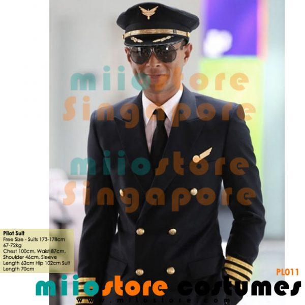 Pilot Suit Set with Cap - miiostore Costumes Singapore - P011