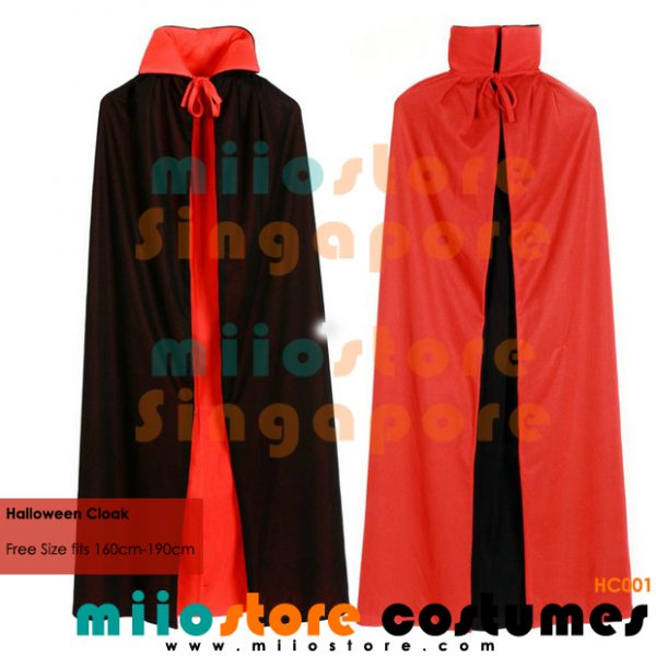 Halloween Cloak Singapore - miiostore Costumes Singapore - Hc001