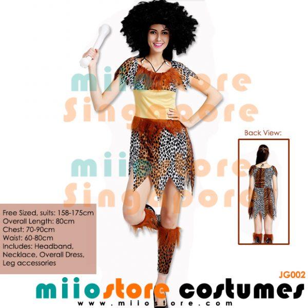 Jungle Costumes Singapore - Safari Zoo Leopard Prints - miiostore Costumes Singapore - JG002