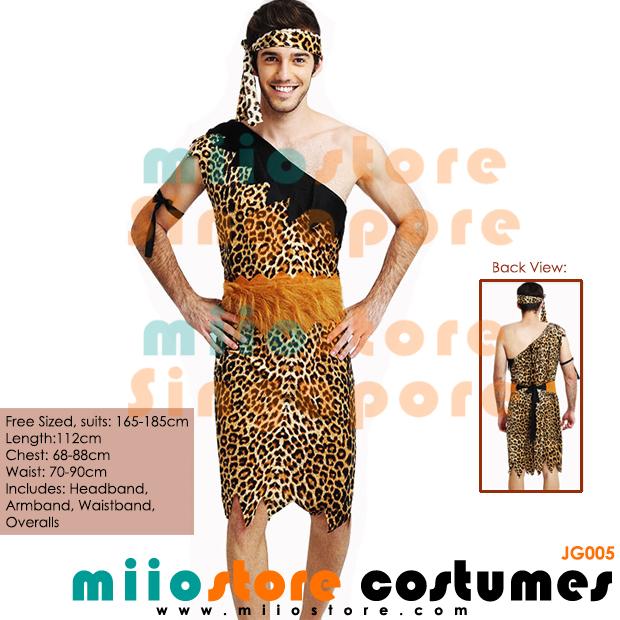 Jungle Costumes Singapore - Safari Zoo Leopard Prints - miiostore Costumes Singapore - JG005