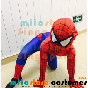 Spiderman Kids Costumes SP009 - miiostore Costumes Singapore