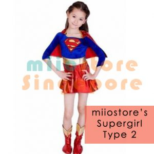 Supergirl Costumes Singapore - miiostore Costumes Singapore - SU004
