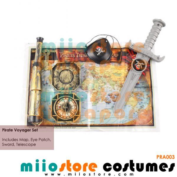Pirate Voyager Set - miiostore Costumes Singapore - PRA003