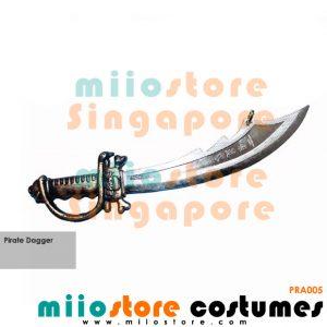 Pirate Dagger - miiostore Costumes Singapore - PRA005