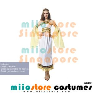 Greek Costumes - GC001 - miiostore Costumes Singapore