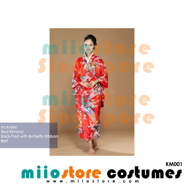 Japanese Kimono Costumes - KM001 - miiostore Costumes Singapore