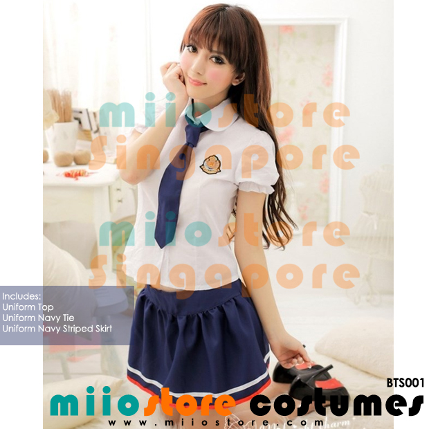 Ladies School Uniform - miiostore Costumes Singapore - BTS001