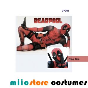 DP001 - Deadpool Costumes - miiostore Costumes Singapore