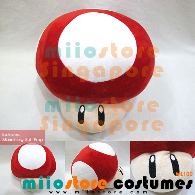 Mario Costumes Soft Photobooth Prop Accessories Toy - miiostore Costumes Singapore - ML100