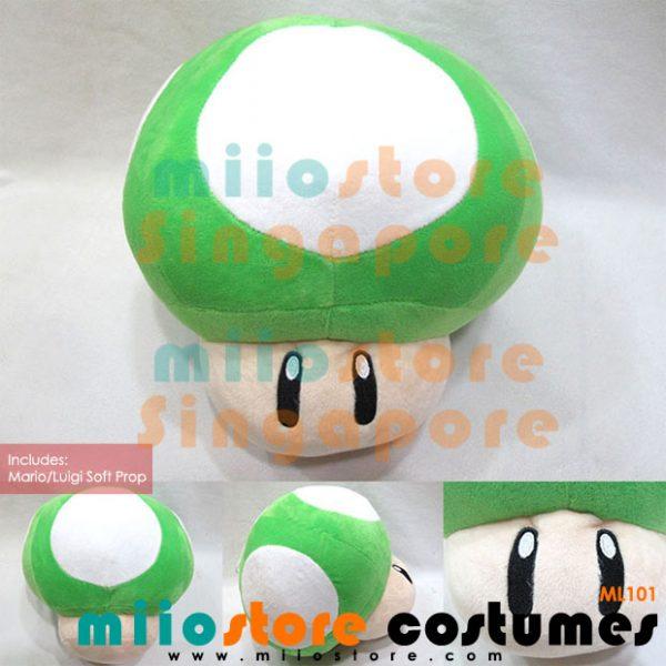 Luigi Costumes Soft Photobooth Prop Accessories Toy - miiostore Costumes Singapore - ML101