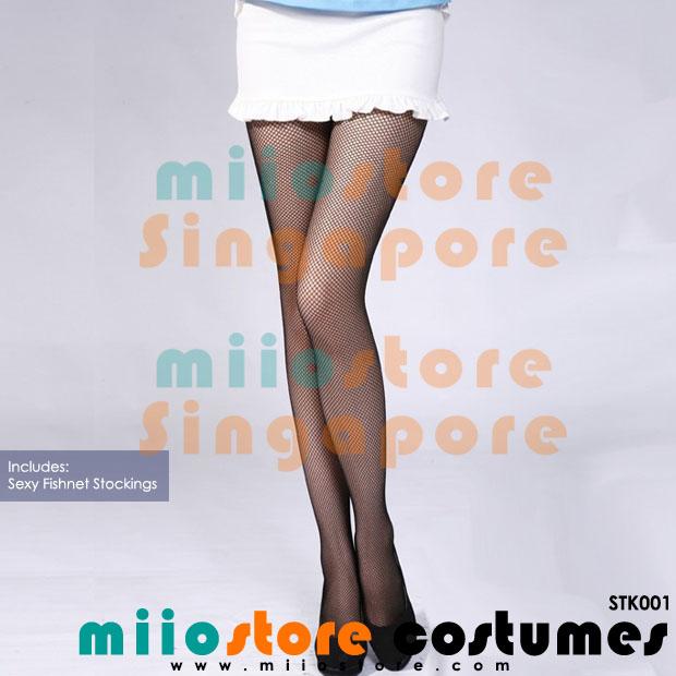 Brand New Sexy Fishnet Stockings - miiostore Costumes Singapore - STK001