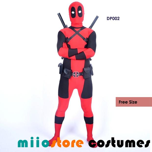 DP002 - Deadpool Costumes Type 2 - miiostore Costumes Singapore