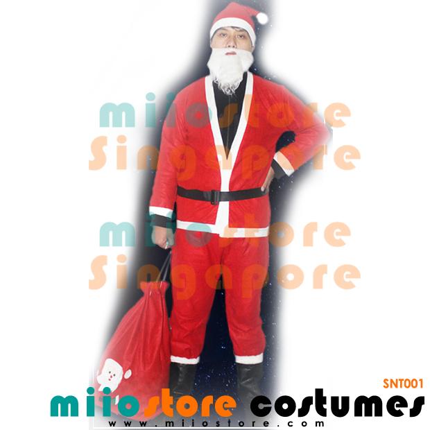 Santa Claus Costumes - miiostore Costumes Singapore - SNT001
