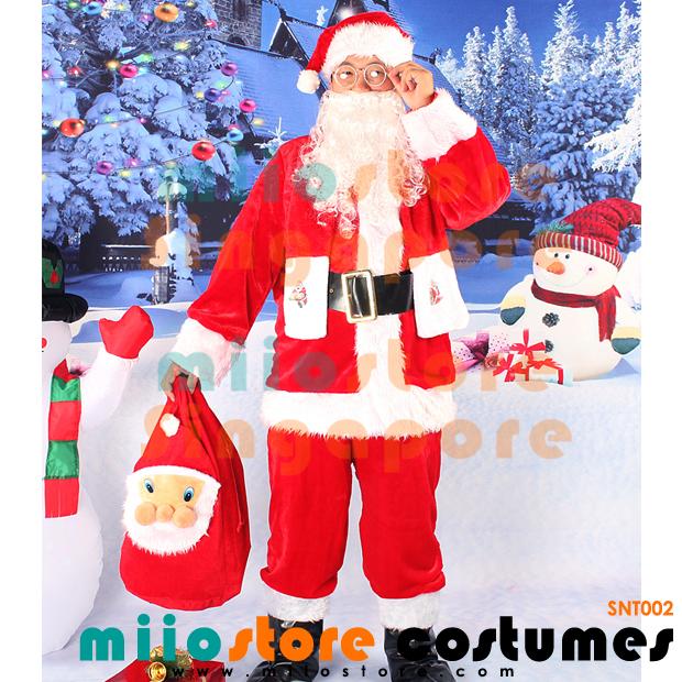 Santa Claus Costumes - miiostore Costumes Singapore - SNT002